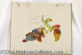 Autographs, Winnie the Pooh and Friends Disney Animation Cel
