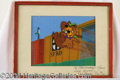 Autographs, Yogi Bear Hanna-Barbera Animation Cel
