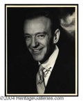Autographs, Fred Astaire Signed 8 x 10 Photo