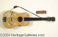 Autographs, Gene Autry Vintage Child's Guitar with Box Signed