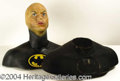 Autographs, Michael Keaton Prop Batman Bust from First Film