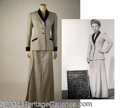 Autographs, Anne Baxter Herringbone Jacket & Skirt