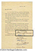 Autographs, Fanny Brice Signed Letter