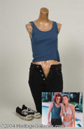 Autographs, Neve Campbell Complete Worn Outfit from Wild Things