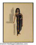 Autographs, Cleopatra Costume Sketch of Old Crone
