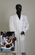 Autographs, George Clooney Lab Coat from ER