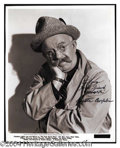 Autographs, Chester Conklin Vintage Signed Photo