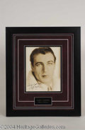 Autographs, Gary Cooper Vintage Signed Photo