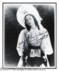 Autographs, Joan Crawford Signed 8 x 10 Photo