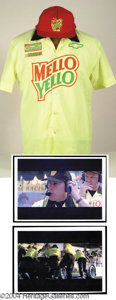 Autographs, Days of Thunder John C. Reilly Screen Worn Shirt