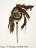 Autographs, Dances with Wolves Prop Indian Hand Rattle