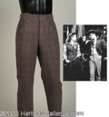 Autographs, Errol Flynn Pants from Montana