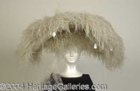 Funny Girl Screen Worn Hat - This flamboyant hat is from the 1968 film FUNNY GIRL, starring Barbra Streisand as Fanny Br...