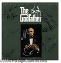 Autographs, The Godfather Cast Signed Laserdisc Cover