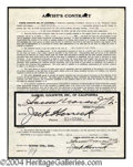 Autographs, Samuel Goldwyn Signed Document