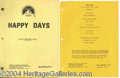Autographs, Only Hurts When I Smile Happy Days Script