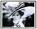 Autographs, Audrey Hepburn Signed Photo from My Fair Lady
