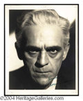 Autographs, Boris Karloff Vintage Signed Photo