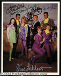 Autographs, Lost In Space Cast Signed 8 x 10 Photo