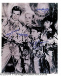 Autographs, Lost In Space Cast Signed 11 x 14 Photo
