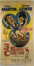 Autographs, 3 Ring Circus Martin & Lewis Poster