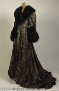 Autographs, Nolan Miller NYC Ballet Fur Coat Costume