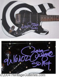 Autographs, Zakk Wylde (Ozzy) Custom Signed Guitar