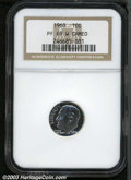 Proof Roosevelt Dimes: , 1960 PR69 W Cameo NGC. ...