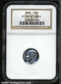 Proof Roosevelt Dimes: , 1962 10C PR69 Cameo NGC.