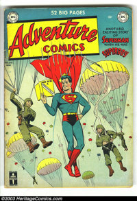 Adventure Comics #150 (DC, 1950) Condition: VG+. Starring Superboy, with the Shining Knight by Frank Frazetta. Overstree...