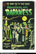 Golden Age (1938-1955):Horror, Adventures Into Darkness #6 (Standard, 1952) Condition: GD/VG.George Tuska, Jack Katz art. Overstreet 2003 GD 2.0 value = $...
