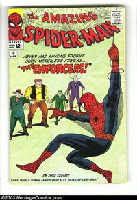 Amazing Spider-Man #10 (Marvel, 1964) Condition: GD. Steve Ditko cover and art. First appearance Big Man and the Enforce...