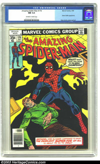 Amazing Spider-Man #176 (Marvel, 1978) CGC NM 9.4 Off-white to white pages. Origin and first appearance of the third Gre...