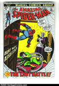 Silver Age (1956-1969):Superhero, Amazing Spider-Man #115 and 124 Group (Marvel, 1970s). First appearance Man-Wolf in #124(VG). John Romita Sr. covers on both... (Total: 2 Comic Books Item)