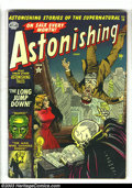 Golden Age (1938-1955):Horror, Astonishing #14 (Atlas, 1952) Condition: VG+. Bernard Krigstein,Don Rico and Dick Ayers art. Overstreet 2003 VG 4.0 value =...