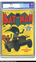 Golden Age (1938-1955):Superhero, Batman #12 (DC, 1942) CGC FN+ 6.5 Off-white pages. Joker appearance. Jerry Robinson and Jack Burnley art. Overstreet 2003 FN...