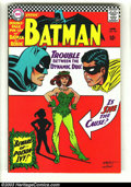 Silver Age (1956-1969):Superhero, Batman #181 (DC, 1966) Condition: VF/NM. First appearance of Poison Ivy. Contains double-page pin-up of Batman and Robin. Ov...