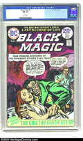 Golden Age (1938-1955):Horror, Black Magic #4 (DC, 1974) CGC NM 9.4 White pages. Contains JoeSimon and Jack Kirby reprints. To date, this is the only CGC-...