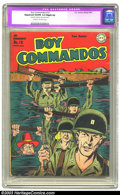 Golden Age (1938-1955):War, Boy Commandos #10 (DC, 1945) CGC Apparent VG/FN 5.0 Slight (A)Cream to off-white pages. Kirbyesque World War II cover maint...