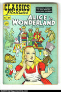Golden Age (1938-1955):Classics Illustrated, Classics Illustrated #49 Alice in Wonderland, HRN 47 (Gilberton,1948) Condition: VG. First printing. Alex Blum cover and ar...