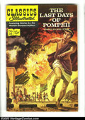 """Golden Age (1938-1955):Classics Illustrated, Classics Illustrated Group (Gilberton, 1960s-70s). Group of sixbooks: issues #35 """"The Last Days of Pompeii"""" (FN - HRN 161 -...(Total: 6 Comic Books Item)"""
