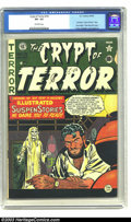 Golden Age (1938-1955):Horror, Crypt of Terror #19 (EC, 1950) CGC VG- 3.5 Off-white pages. Lastissue this title. Next issue begins Tales from the Crypt...