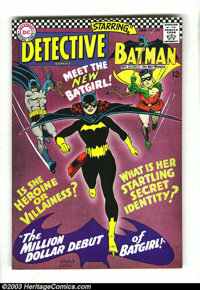 Detective Comics #359 (DC, 1967) Condition: VF. Origin and first appearance of Batgirl (Barbara Gordon). First Silver Ag...