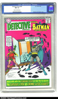 Detective Comics #364 (DC, 1967) CGC NM- 9.2 Cream to off-white pages. Early Silver Age Riddler appearance. Carmine Infa...