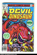 Bronze Age (1970-1979):Miscellaneous, Devil Dinosaur #1-9 Group (Marvel, 1978) Condition: Average FN.Nine issue lot features the entire title run. Jack Kirby cov...(Total: 9 Comic Books Item)