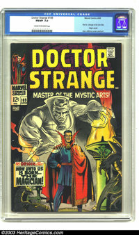Doctor Strange #169 (Marvel, 1968) CGC FN/VF Cream to off-white pages. First issue of Doctor Strange in his own title. O...