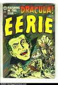 Golden Age (1938-1955):Horror, Eerie #12 (Avon, 1953) Condition: FN. Dracula cover and story,adaptation of novel. Overstreet 2003 FN 6.0 value = $111....