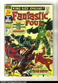 Silver Age (1956-1969):Superhero, Fantastic Four Annual #5 (Marvel, 1967) Condition: FN+. First Psycho-Man, first solo Silver Surfer story. Early Black Panthe...