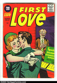First Love #67-70 Group (Harvey, 1956) Condition: Average VF-. Lots of sentimental love stories in this lot of issues #6...