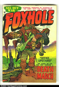 Golden Age (1938-1955):War, Foxhole #3 (Charlton, 1955) Condition: VG+. Jack Kirby cover.Overstreet 2003 VG 4.0 value = $36. From the Compleat Kirby...